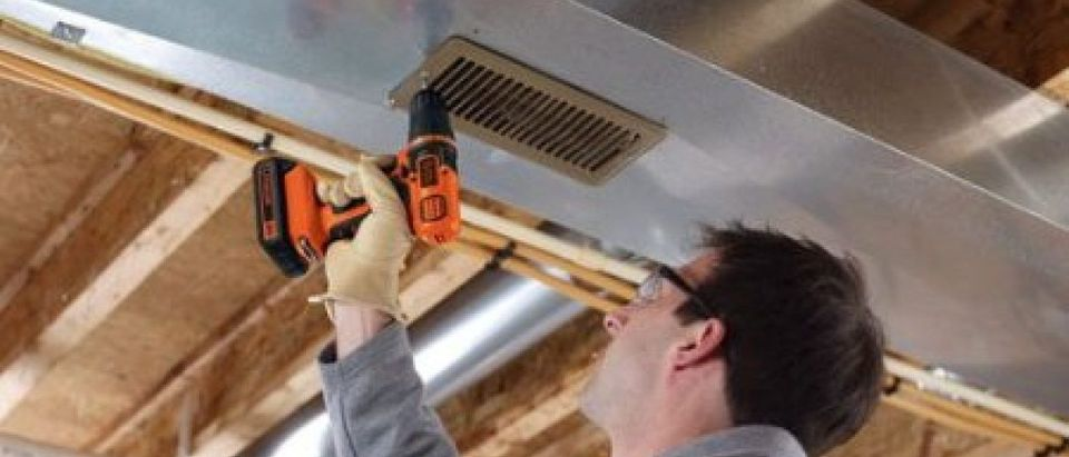 This guy probably got his Black & Decker drill on Father's Day (Photo via Amazon)