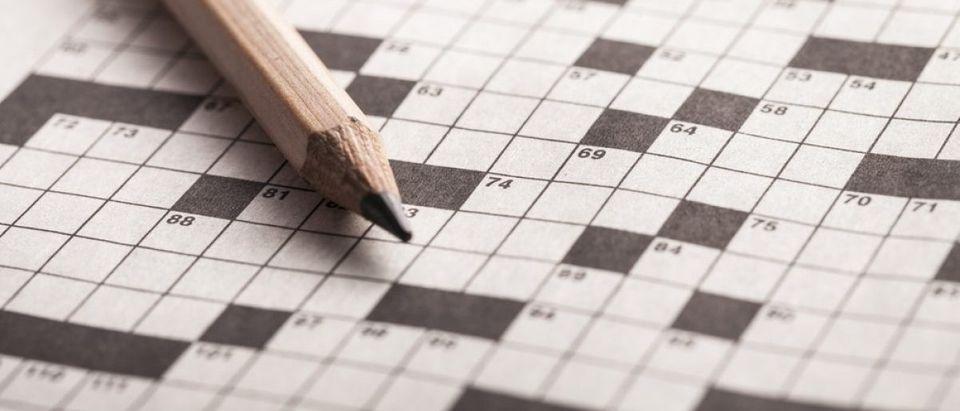 Crossword puzzle. [Shutterstock/Billion photos]
