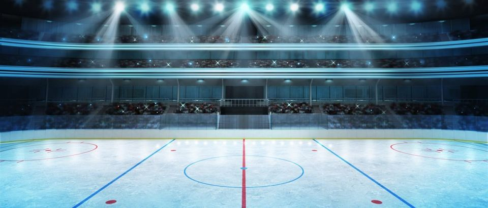 Hockey rink (Credit: Shutterstock)