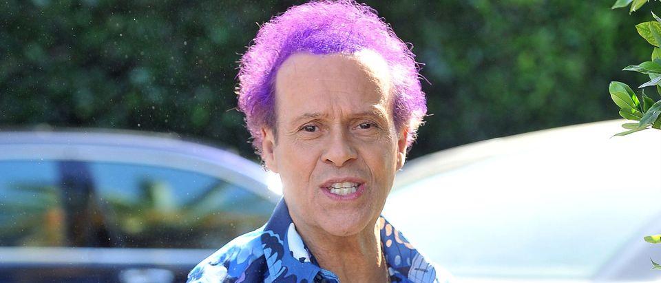 Richard Simmons becoming a woman