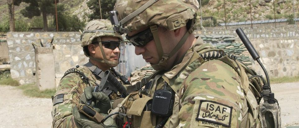 U.S. Army Captain Uses Nett Warrior System
