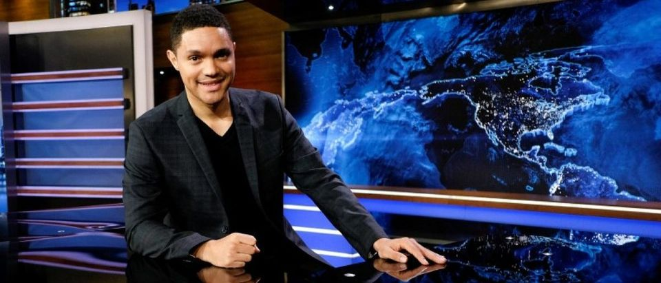 Television host Trevor Noah attends an interview with Reuters in New York