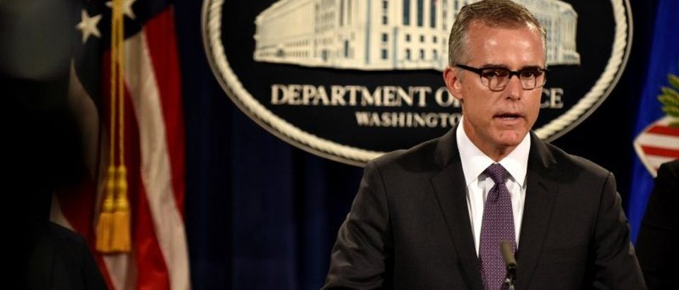 FBI Deputy Director Andrew McCabe details the filing of civil forfeiture complaints seeking the forfeiture and recovery of more than $1 billion in assets in Washington