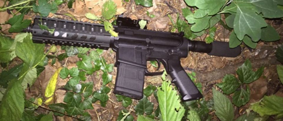 AR-15 style weapon used by shooter (Baltimore Police)