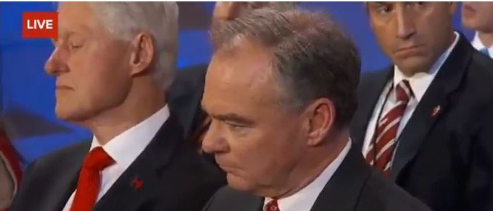 Bill Clinton, Tim Kaine, Screen Grab YouTube