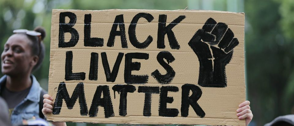Black Lives Matter/ Getty Images/DANIEL LEAL-OLIVAS