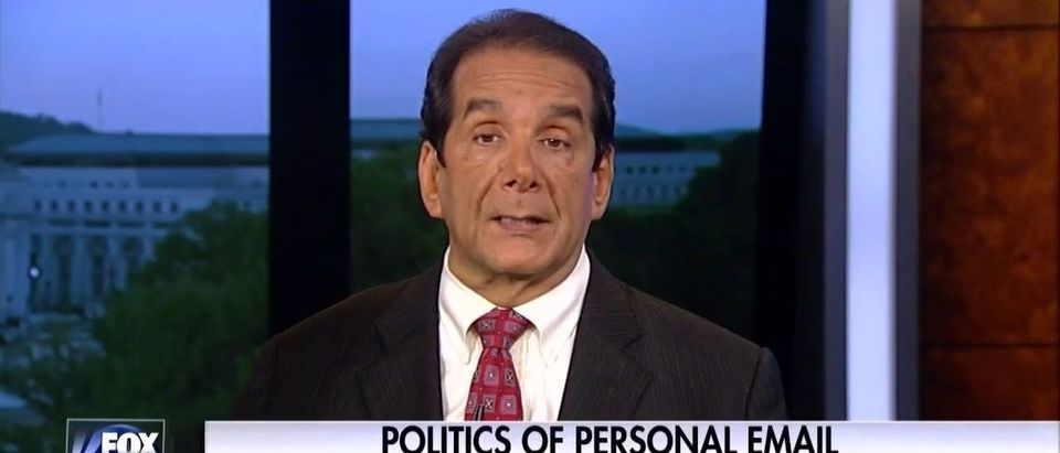 Charles Krauthammer, Screen Grab FNC, 7-5-2016