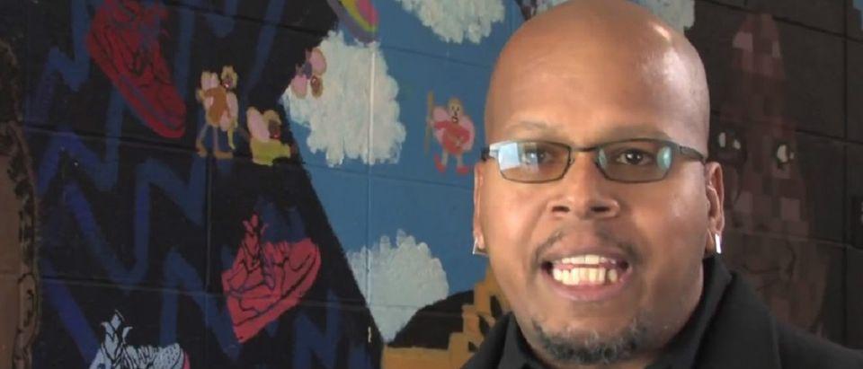 Christian Davenport YouTube screenshot/White Scripts & Black Supermen