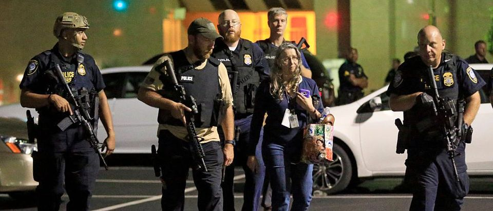 Dallas police respond to shooting Getty Images