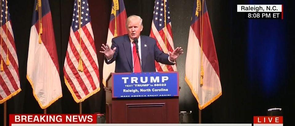 Donald Trump, Screen Grab CNN, 7-5-2016
