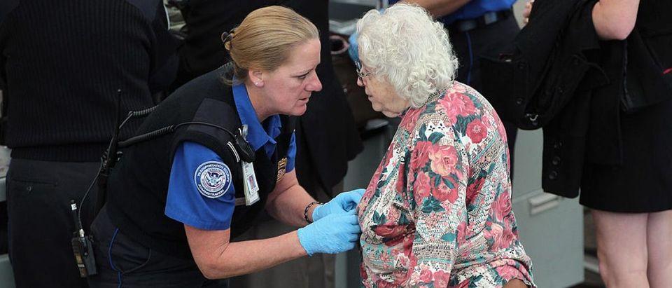 TSA Screens Passengers At Denver International Airport