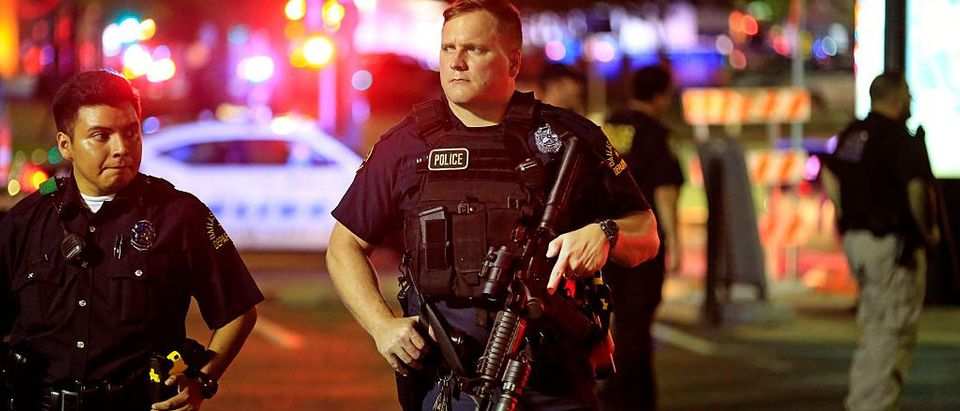 Five Police Officers Killed During Anti-Police Brutality March In Dallas (Photo: Ron Jenkins/Getty Images)