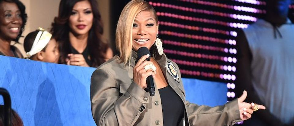 Queen Latifah speaks during the VH1 Hip Hop Honors: All Hail The Queens at David Geffen Hall on July 11, 2016 in New York City
