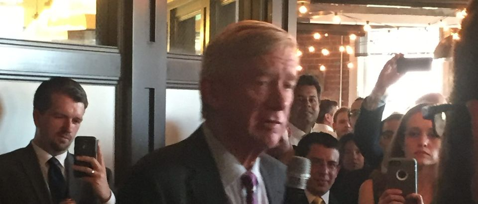 William Weld at DC fundraiser (photo: TheDC)