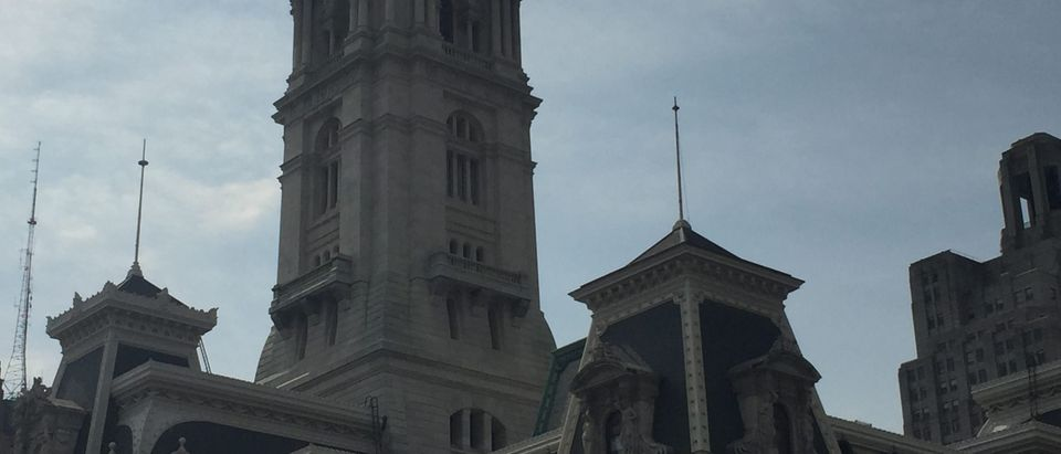 Philly city hall (via The Daily Caller)