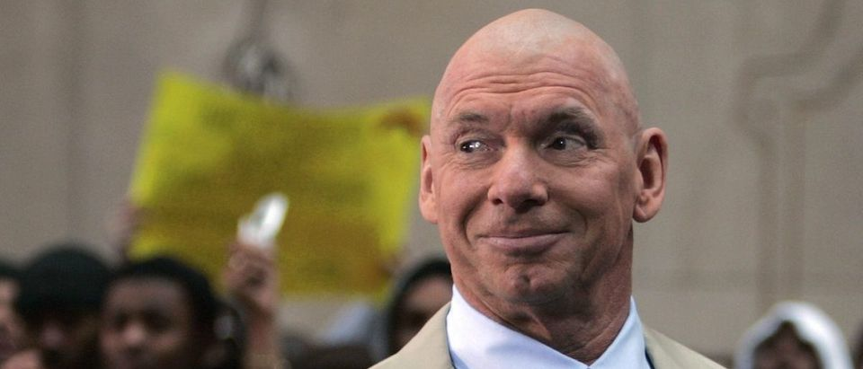File photo of World Wrestling Entertainment owner Vince McMahon in New York