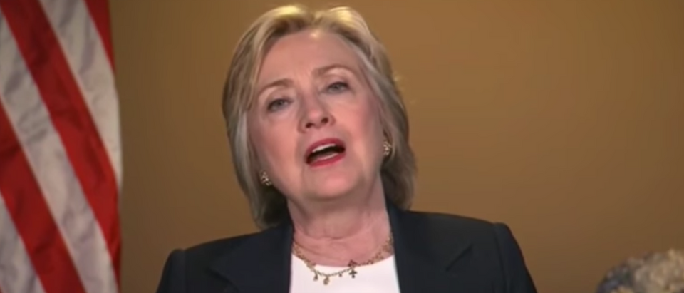 Hillary Clinton, July 8, 2016. (Youtube screen grab)
