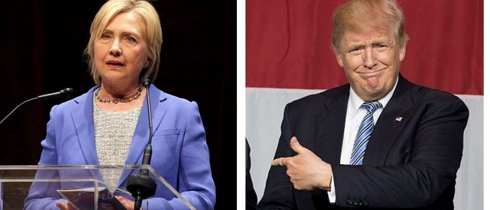 Hillary Clinton, Donald Trump (Getty Images)