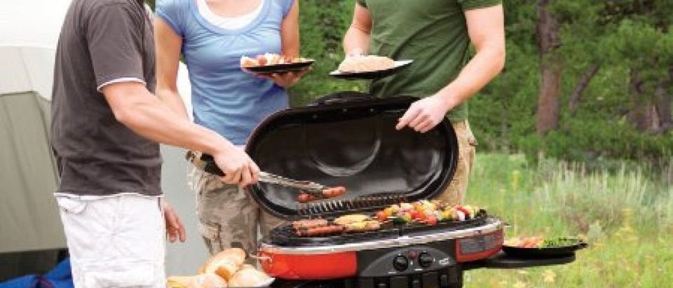 This portable propane grill is a great bargain for Prime Day (Photo via Amazon)