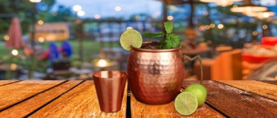 The Moscow Mule is the perfect summer cocktail (Photo via Amazon)