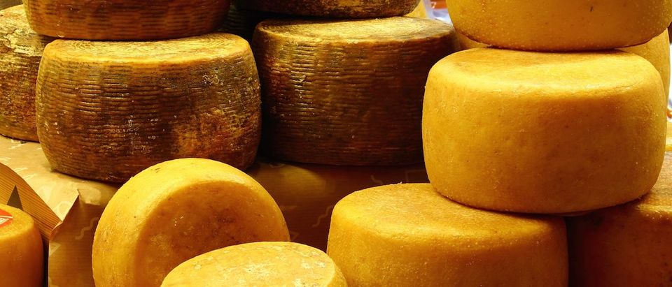 There Is A Lot Of Cheese In The National Stockpile