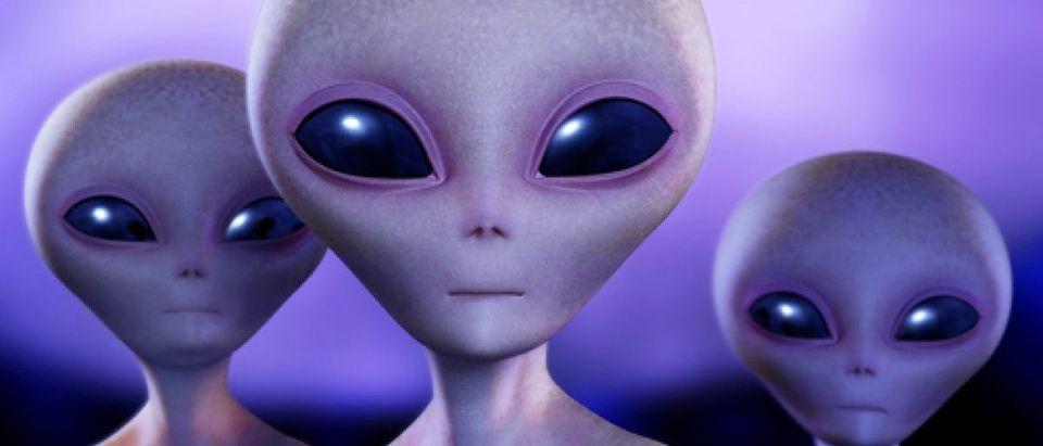 Aliens Credit: Shutterstock Albert Ziganshin