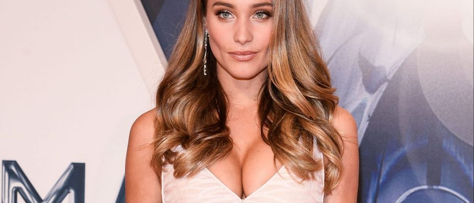 Hannah Davis. (Photo: Splash News)