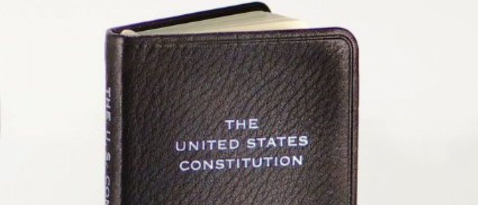 The pocket Constitution is now a best seller on Amazon (Photo via Amazon)
