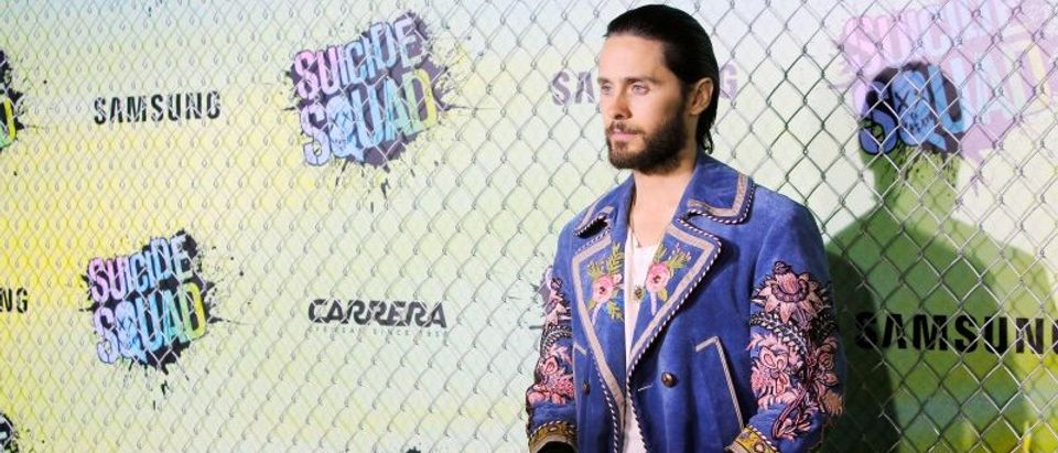 """Actor Jared Leto attends the world premiere of """"Suicide Squad"""" in Manhattan, New York, U.S."""