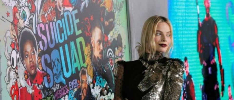 """Actress Margot Robbie attends the world premiere of """"Suicide Squad"""" in Manhattan, New York, U.S."""