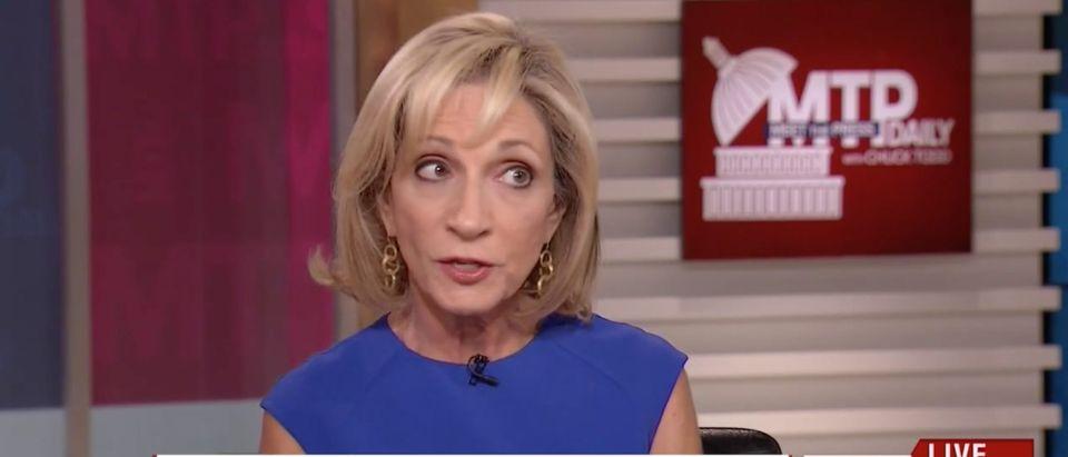 Andrea Mitchell, Screen Grab MSNBC, 8-24-2016