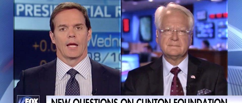Bill Hemmer, Larry Klayman, 8-10-2016 Screen Grab Fox News