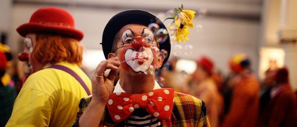 Clowns Gather For The Joseph Grimaldi Memorial Service