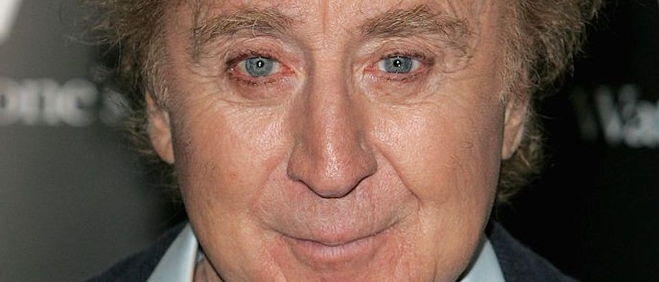 Gene Wilder Signs Copies Of His Debut Novel, My French Whore At Waterstones