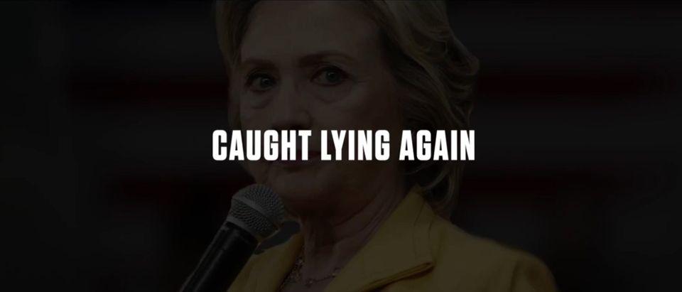 Hillary Clinton, Screen Grab GOP YouTube, 8-23-2016