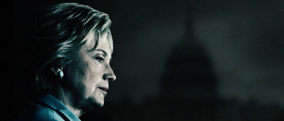 Hillary Clinton in Trump Ad, Screen Grab Team Trump YouTube, 8-19-2016