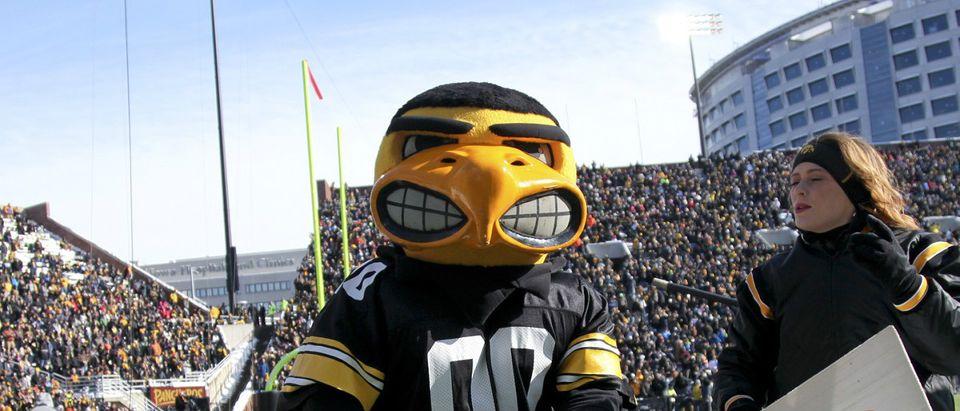 Iowa Hawkeyes mascot Getty Images/Matthew Holst