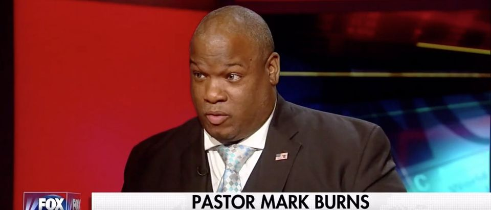 Mark Burns, Screen Grab Fox News, 8-25-2016