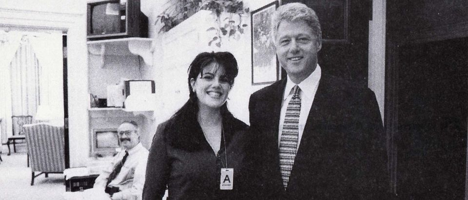 Bill Clinton and Monica Lewinsky Reuters
