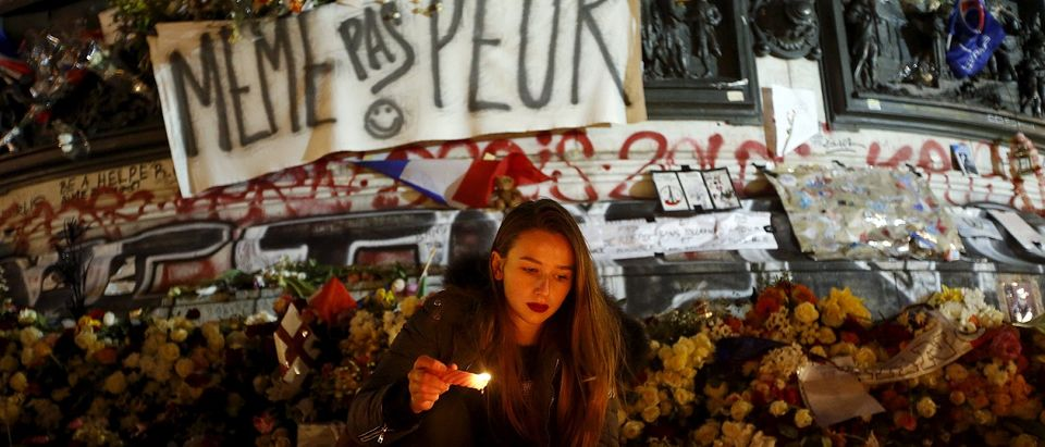 November 2015 Paris terror attacks memorial Reuters/Eric Gaillard