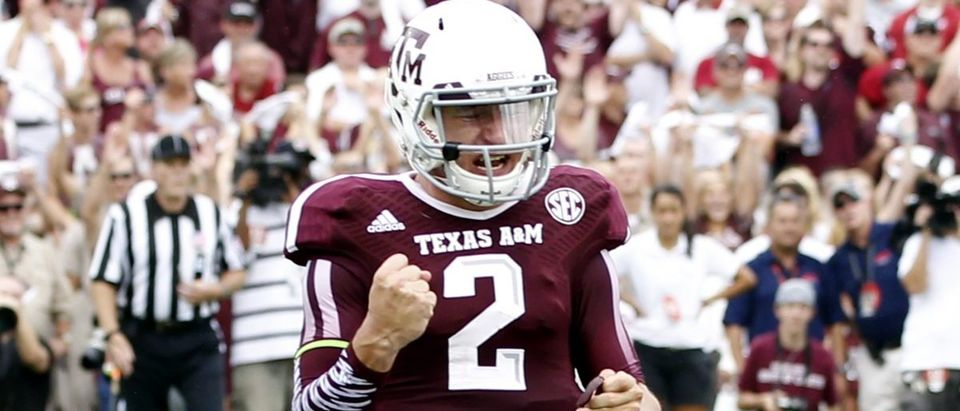 Johnny Manziel at Texas A&M