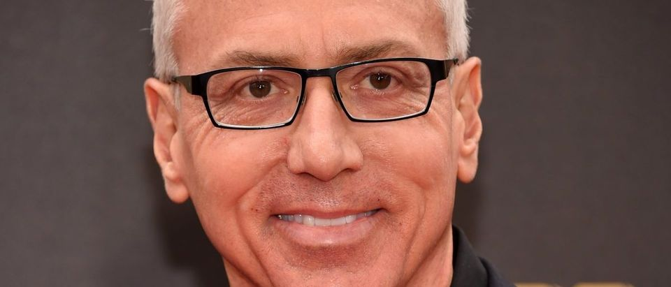 Dr. Drew Pinsky arrives at the 2016 MTV Movie Awards in Burbank