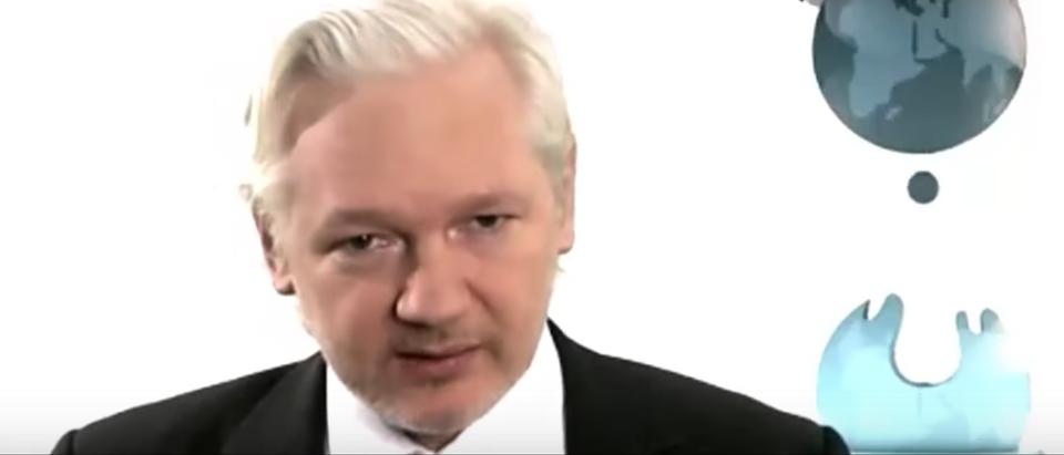 WikiLeaks founder Julian Assange speaks to Bill Maher, Aug. 5, 2016. (Youtube screen grab)
