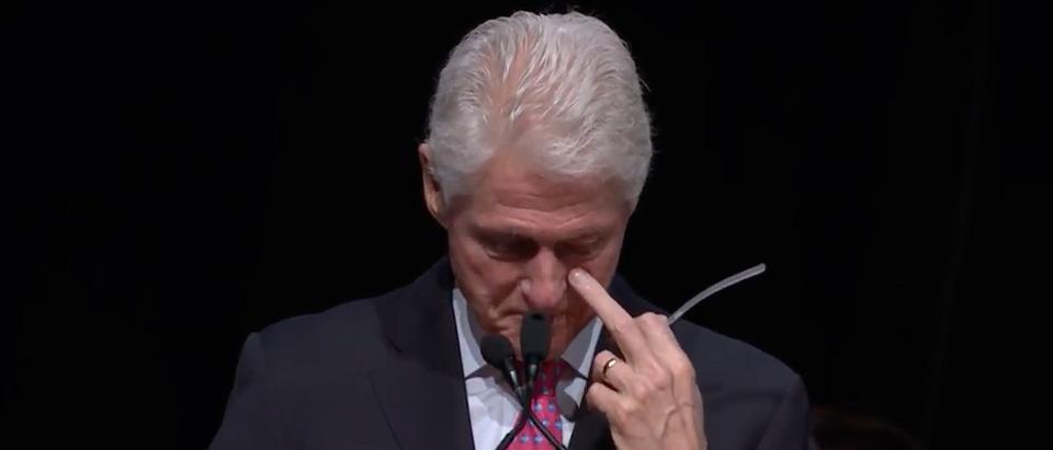 Bill Clinton speaks in Las Vegas, Aug. 12, 2016. (Youtube screen grab)