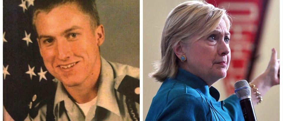 Kristian Saucier, Hillary Clinton (US District Court For Connecticut, Getty Images)