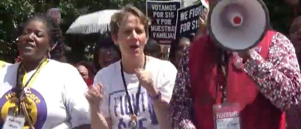 SEIU President Mary Kay Henry (YouTube)