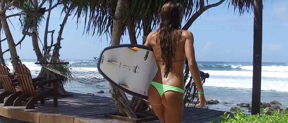 Surfers (Credit: Screenshot/Youtube KALOEA Surfer Girls)