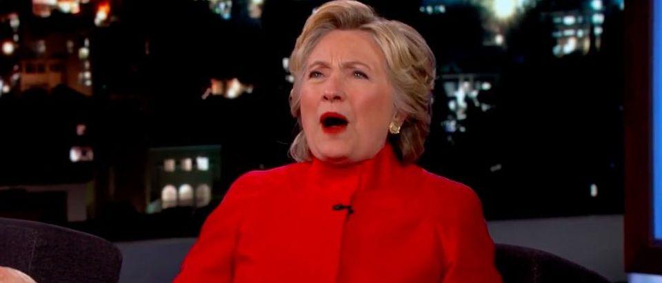 Hillary Clinton (Photo: YouTube/Jimmy Kimmel screen grab)