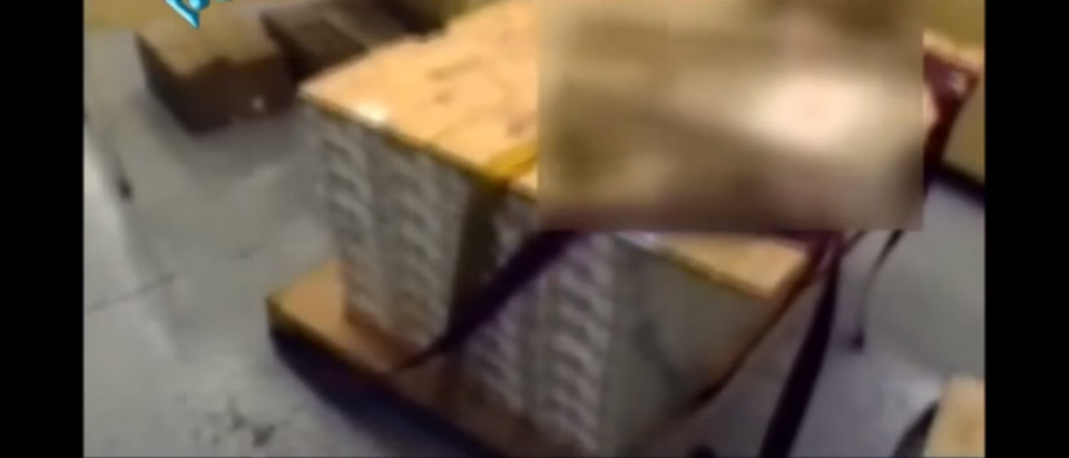 Iran documentary shows pallet of cash