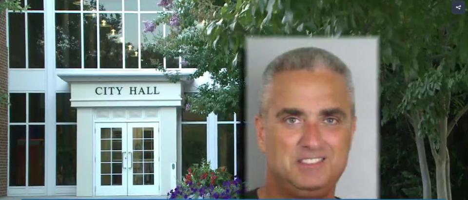 Fairfax mayor busted in sting. (Screenshot/WUSA9)